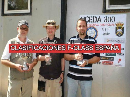 Clasificaciones Torneos y Eventos F-Class España