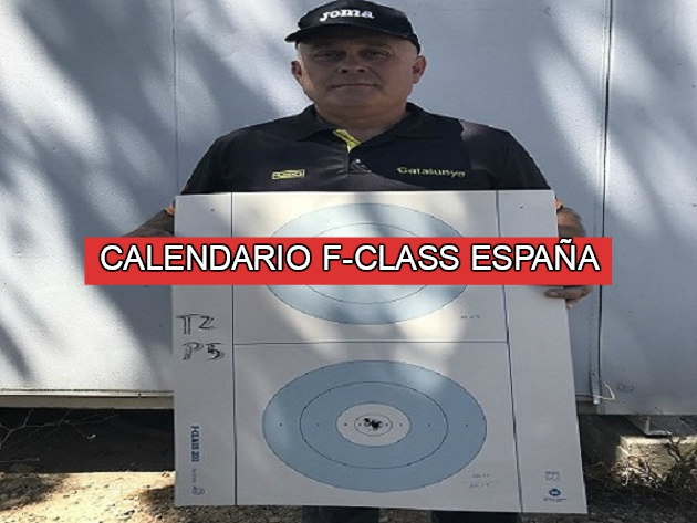 Calendario F-Class - Todos los eventos y competiciones en España