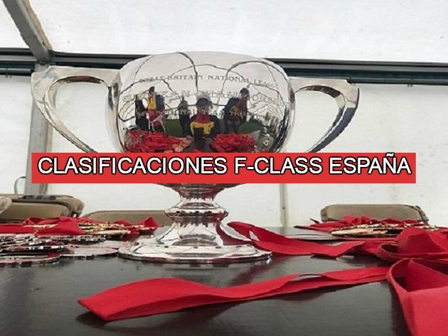 Clasificaciones de torneos F-Class en España y eventos internacionales